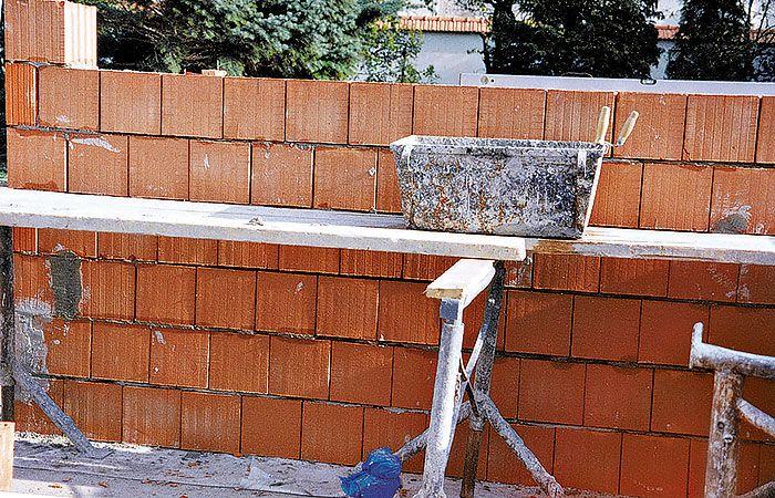 Zásady murovania na obyčajnú maltu