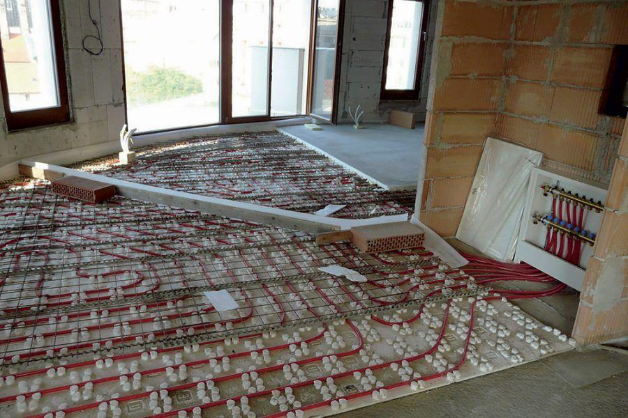 Rekonštrukcia tehlového domu - inštalácie