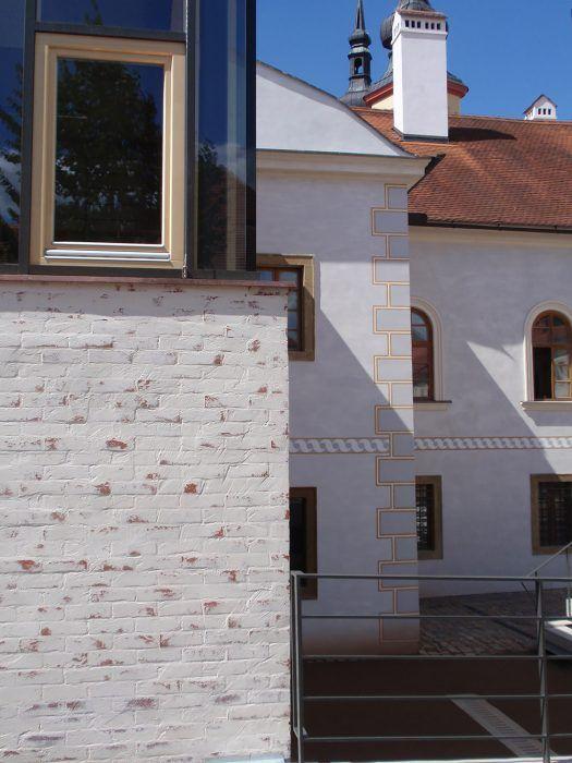 Dostavba dotvára dôležitý urbanistický priestor súčasnou stavbou. Foto: Iveta Klusoňová