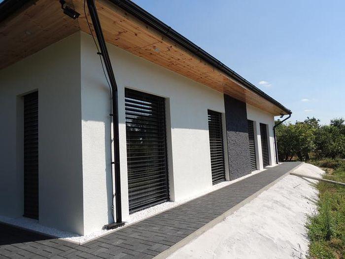 Pasívny bungalov z tehly