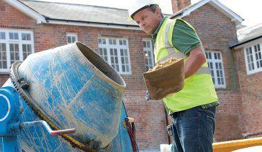 Oprava porušených betónových častí