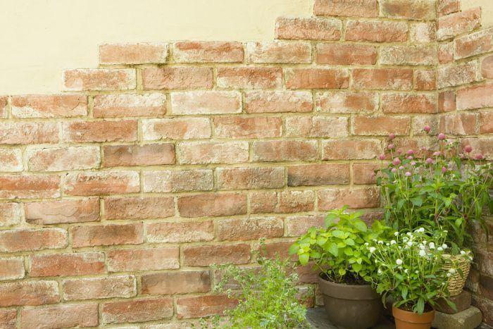 Ak obkladáte múr, skúste jeho časť nechať bez obkladu.