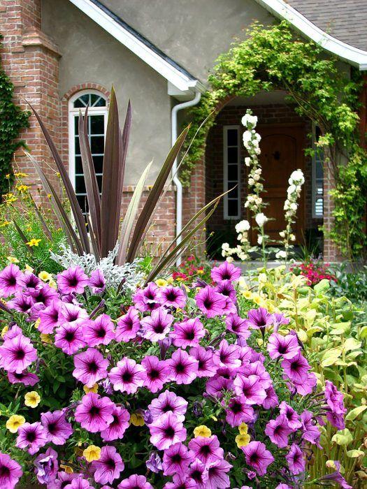 Niekedy to môže vyzerať, akoby zeleninovú záhradu ovládli kvety.