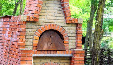 Záhradný kozub či pec na pizzu