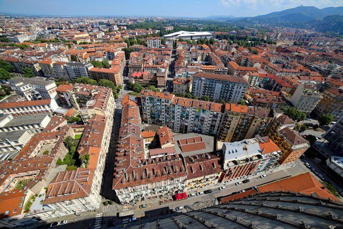 Výhľad z Mole Antonelliana