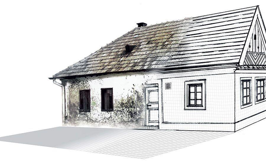 Čo so starým domom? Rekonštruovať?