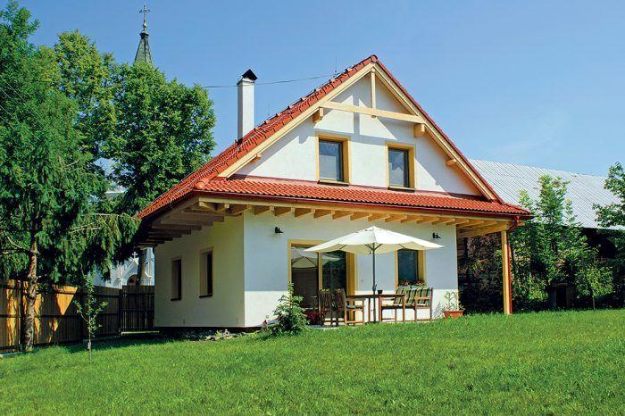 tehlový rodinný dom