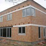 Pasívny rodinný tehlový dom - stavba, stav pred zateplením