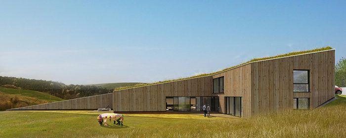 Návrh rodinného domu z architektonickej kancelárie RULES.