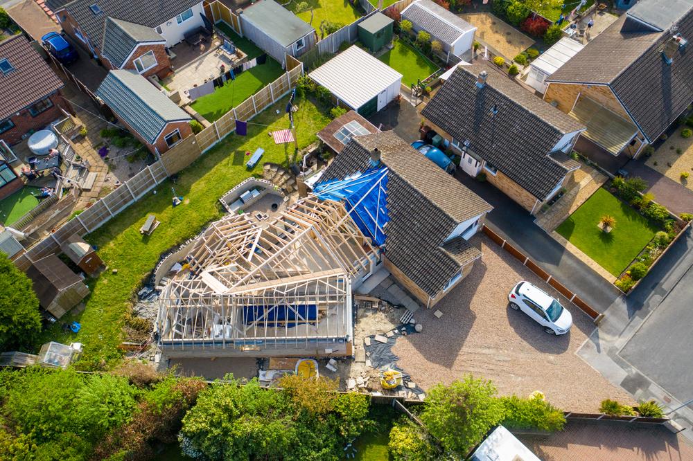 prístavba domu