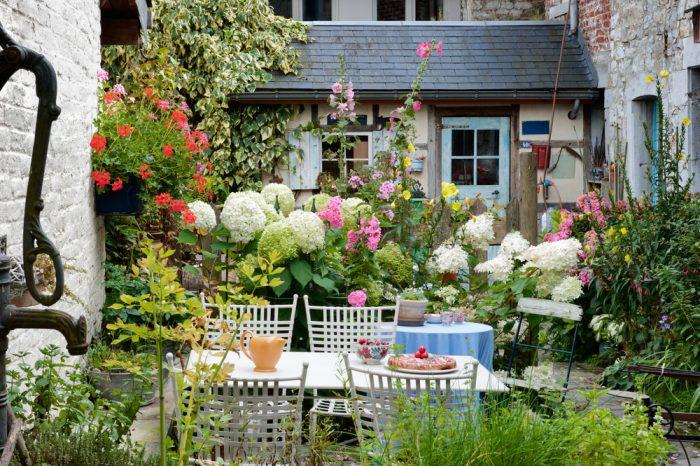 malá záhrada