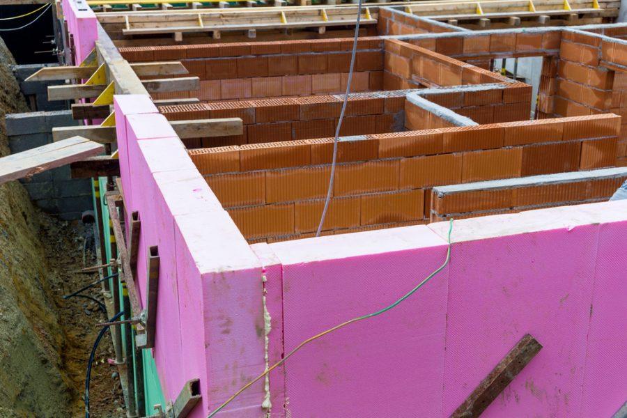 Tepelná izolácia suterénu tehlového domu