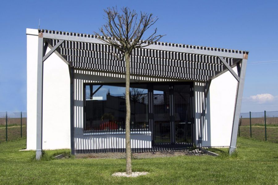 Pasívny dom na extrémne úzkom pozemku