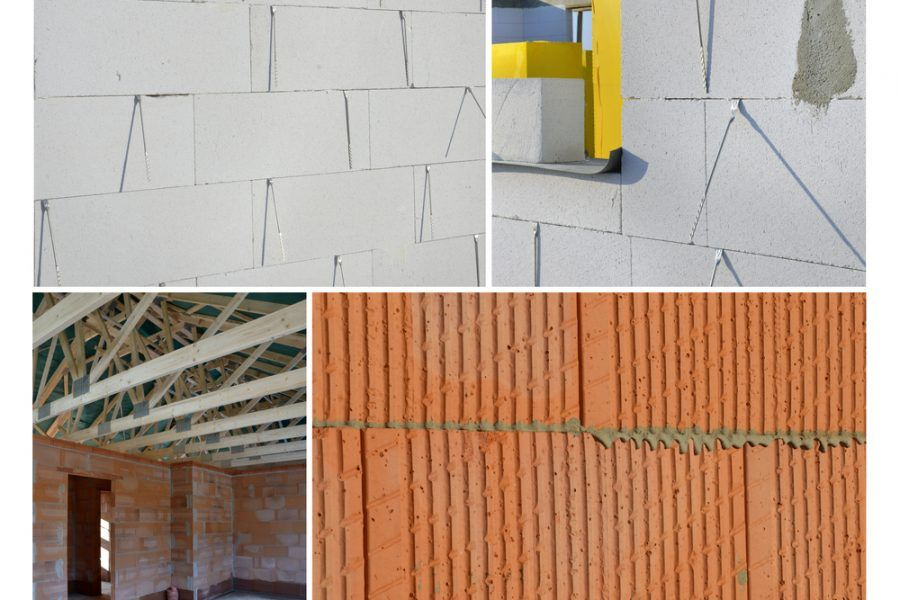 Vysychanie stavby z tehly a pórobetónu – porovnanie
