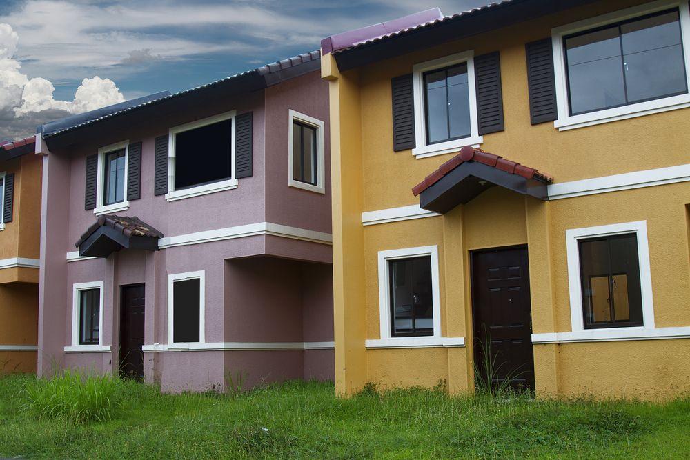 Radové domy z tehly