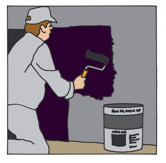 Základný izolačný náter rozriedime s vodou v pomere 1 : 10 a celoplošne nanesieme na steny pivnice. Vytvoríme tak základnú adhéznu vrstvu, ktorá viaže prach