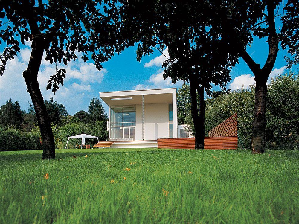 Rodinný dom v Marianke od architektov Kalina Cakova a Emila Makaru