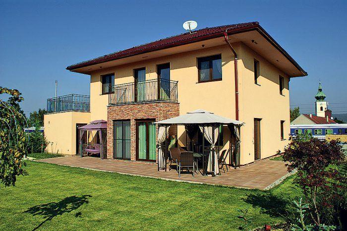 Lacný nízkoenergetický dom