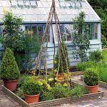 Na pozemku sa nachádza aj skleník a menšia zeleninová záhradka, v ktorej nájdete sladký hrášok, ovocné stromy, zeleninu a bylinky. Tie využíva predovšetkým Kate, ktorá je vášnivá kuchárka.