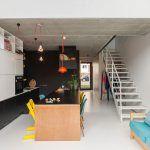 Pieter pracuje ako grafický dizajnér s 3d modelmi a pre väčšinu miestností v dome vypracoval presné priestorové návrhy – dvojici to pomohlo overiť si, či ich predstavy a plány budú fungovať aj v skutočnosti.