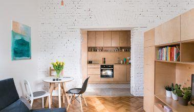 Vlastné bývanie bolo jedným zo spoločných projektov dvojice mladých architektov, Martiny Kalusovej aMichala Pulmana zbratislavského ateliéru NOØ.