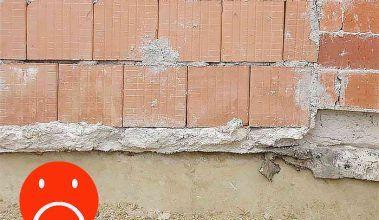 Najčastejšie omyly murárov: prvý rad tehál