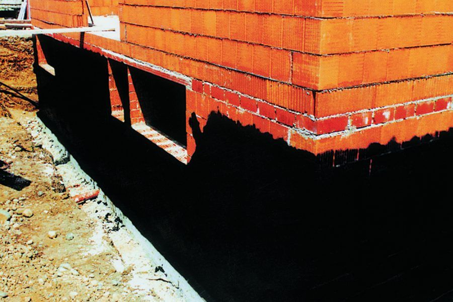 Izolácia základov a spodnej stavby