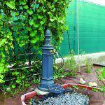 Voda zadarmo Dom je pripojený na verejný vodovod, ale vďaka kvalitnej spodnej vode trávnik a kvety majitelia zavlažujú vodou z vlastnej studne.
