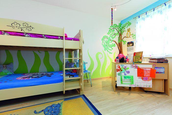 Detská izba Svetlá a príjemná na južnej strane domu. Malá majiteľka si rozostavila nábytok podľa svojho gusta.