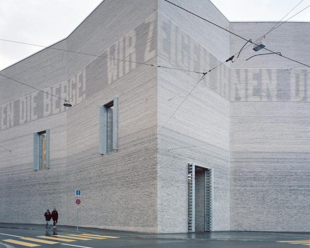 """Kunstmuseum Basel Extension – víťaz kategórie """"Zdieľanie verejných priestorov"""" a víťaz hlavnej ceny Grand Prix."""