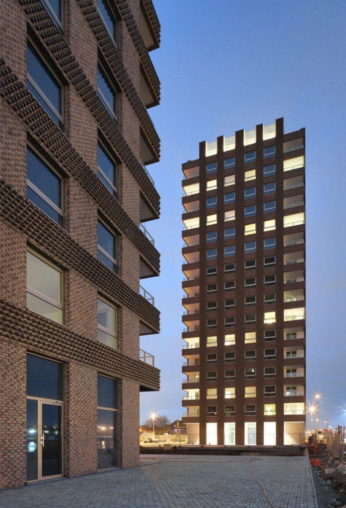 """Westkaai Towers 5 & 6, vítaz kategórie """"Spoločné bývanie"""" a hlavnej ceny Grand Prix"""