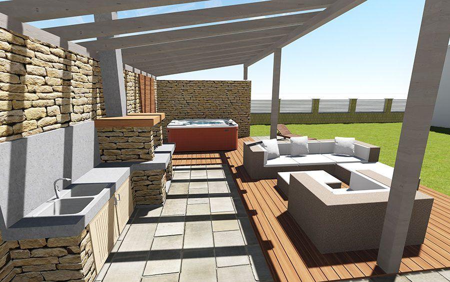 Postavte si murovaný altánok