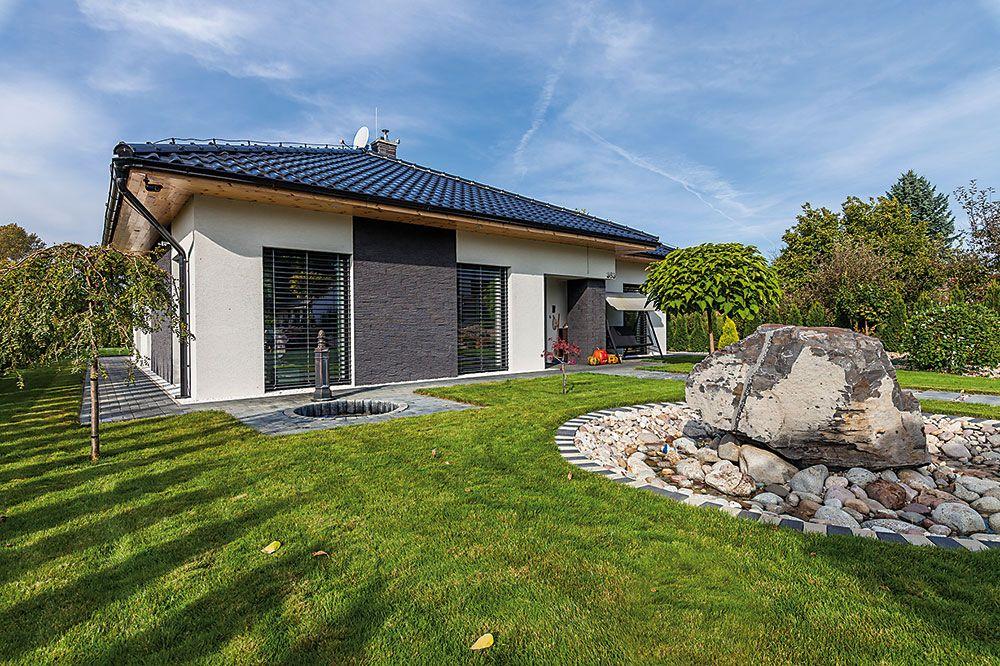 Pasívny bungalov postavený svojpomocne.