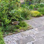V záhrade sa nachádza veľa vždyzelených rastlín, vďaka ktorým pôsobí zaujímavo aj v zimnom období.
