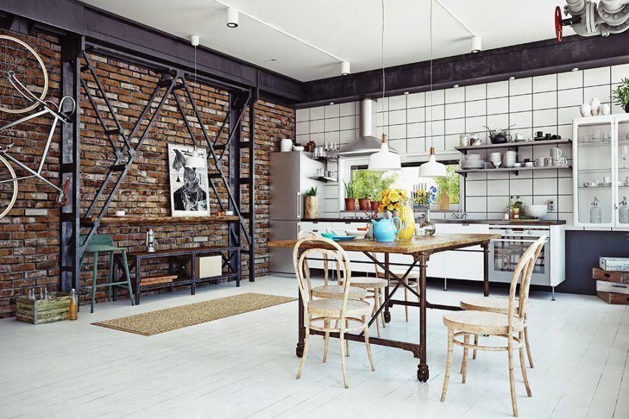 Kuchyňa v industriálnom duchu