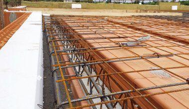 Polomontovaný keramický strop – krok za krokom