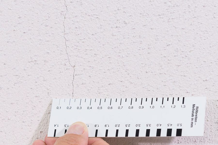 Obnova fasády s trhlinami menšími ako 0,5 mm