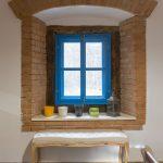 mlyn zrekonštruovaný na bývanie na samote pri Banskej Štiavnici, interiér