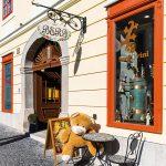 Fasáda historického domu v Banskej štiavnici