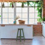 kuchynský ostrovček ako miesto stolovania