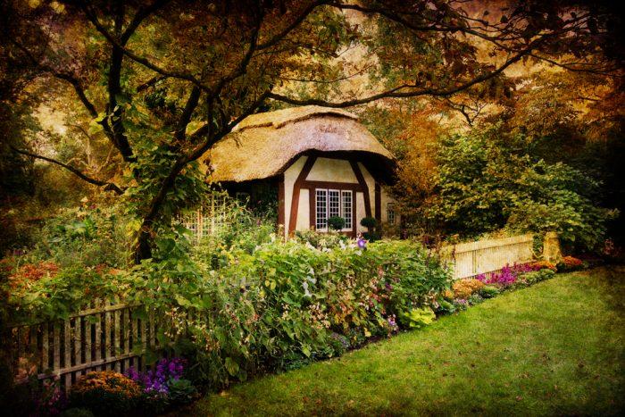 Takto si predstavujem sny milovníka anglických záhrad...