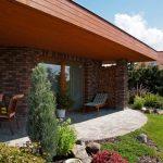 tehlový bungalov
