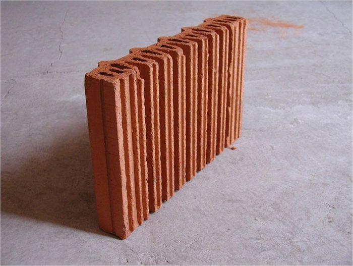 tehlový radiátor