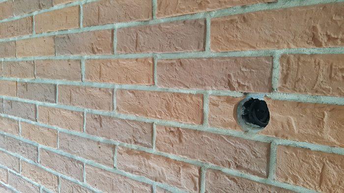 stena s dierkou