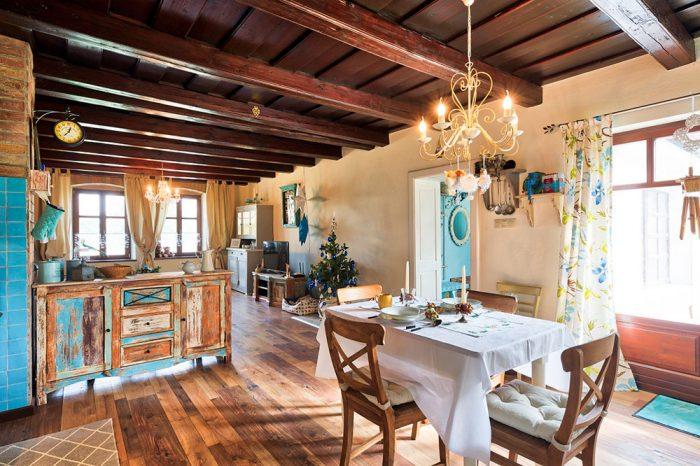 jedáleň a obývačka