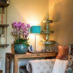 obývačka vo vintage štýle