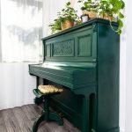 zelený klavír