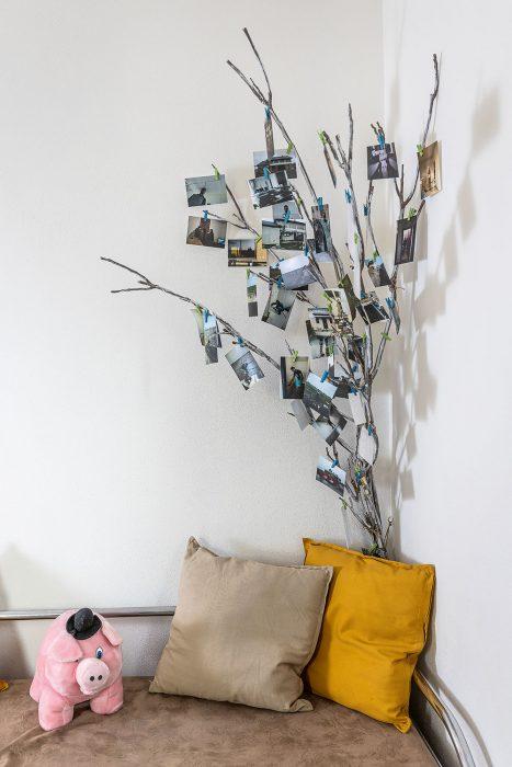 dekorácia z fotiek