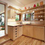 kuchyňa v rodinnom dome