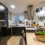 čiernobiela kuchyňa